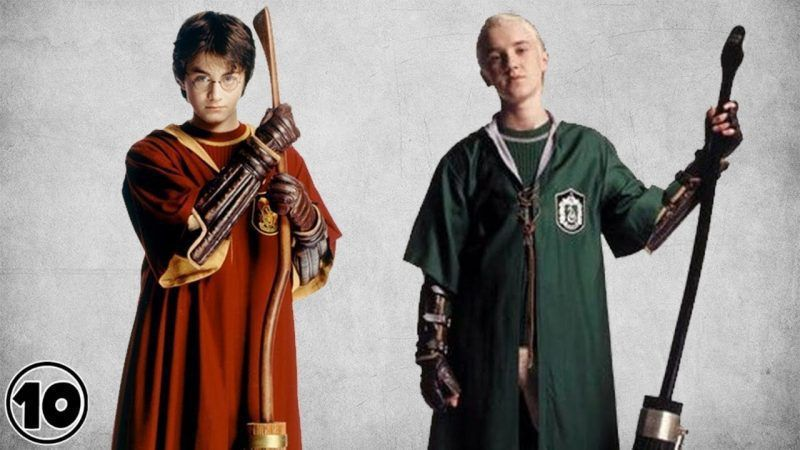 Test de escoba Harry Potter