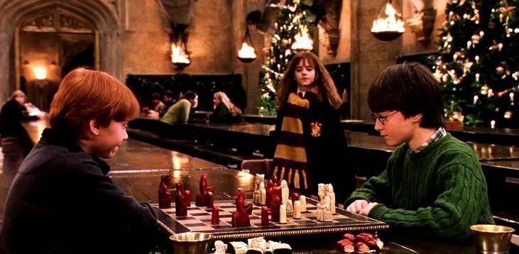 juegos mágicos navidad harry potter