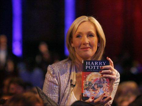 historia de JK Rowling