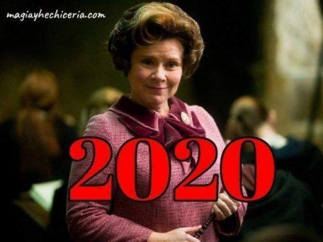 2020 se llamará Dolores Umbridge