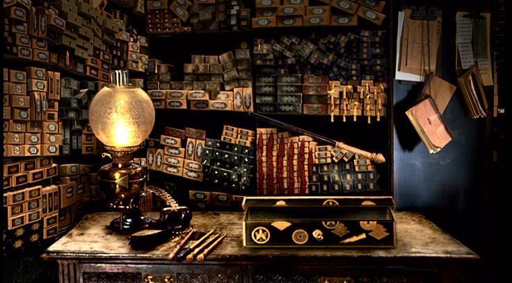 tienda de varitas Harry Potter