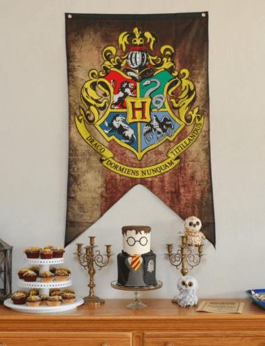 cumpleaños temática harry potter