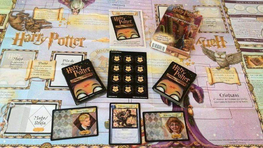juego de cartas de harry potter