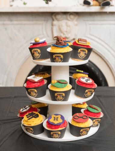 decoración de cumpleaños Harry Potter