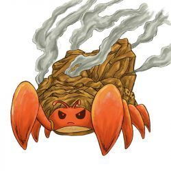 cangrejo de fuego