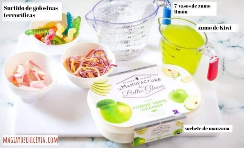 receta de poción multijugos de harry potter