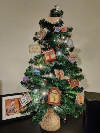 Árbol de Navidad inspirado en Harry Potter