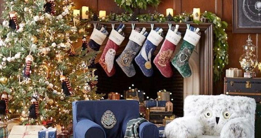 Calcetines de navidad de Harry Potter