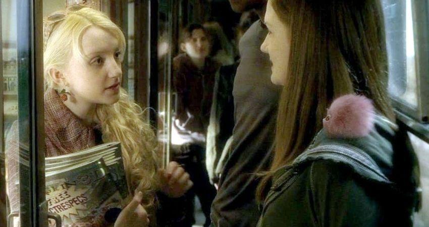 Ginny Weasley y Luna Lovegood