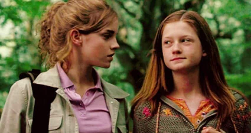 Hermione y Ginny