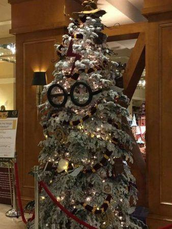árbol navidad Harry Potter