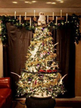 árbol navidad potterhead
