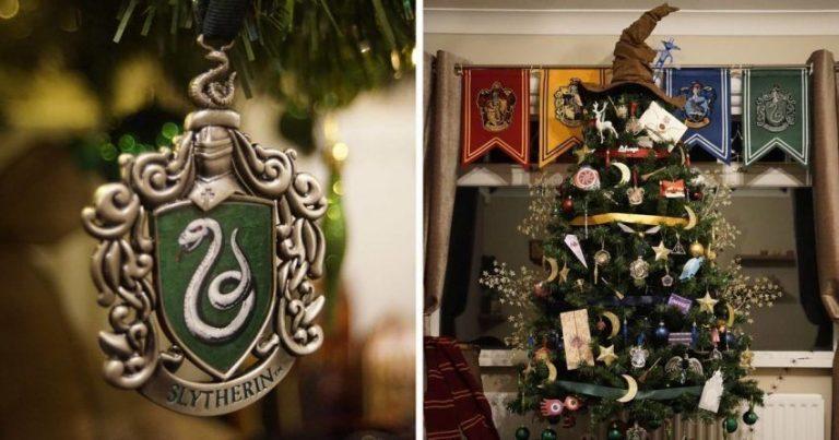 rboles de navidad Harry Potter