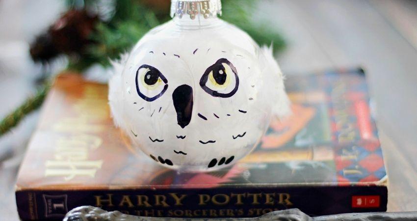 bolas de navidad de harry potter