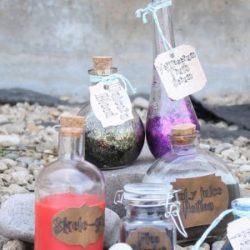 Cómo hacer etiquetas de pociones de Harry Potter