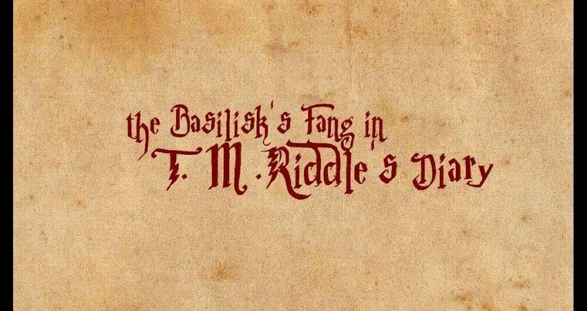 Diario de Harry Potter