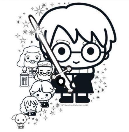 Harry Potter y sus amigos