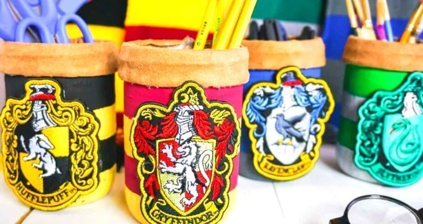 Tarros de Harry Potter caseros