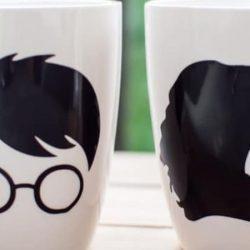 Tazas de Harry Potter caseras