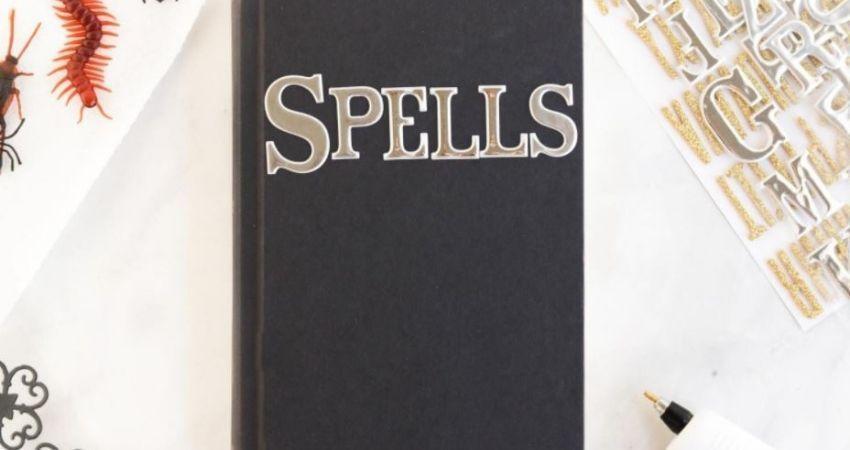 libro de hechizos harry potter