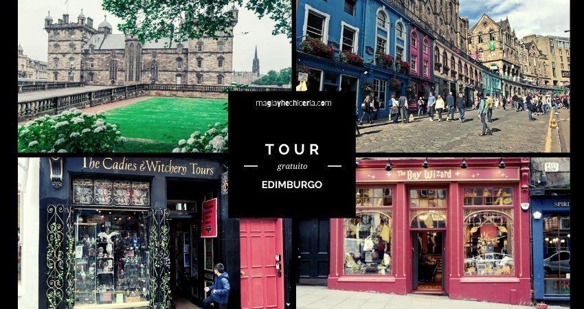Tour de Harry Potter GRATUITO en Edimburgo