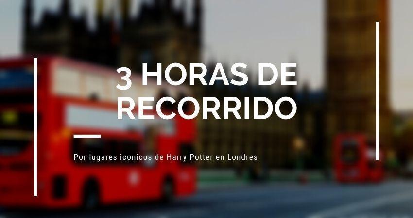 recorrido de 3 horas en bus por los sitios de Harry Potter en Londres