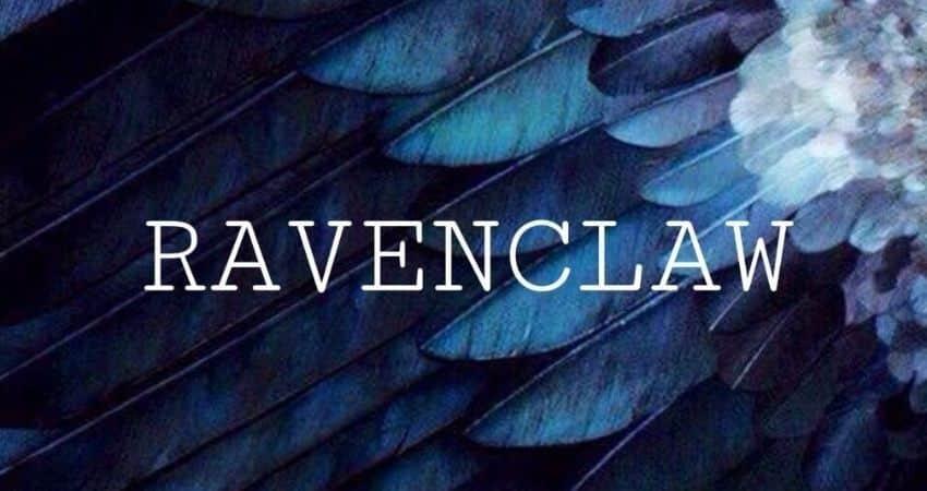 que significa el color azul de ravenclaw